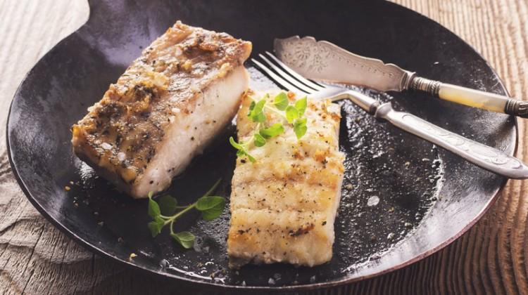 Fischfilet in Ei-Käse-Hülle Rezept