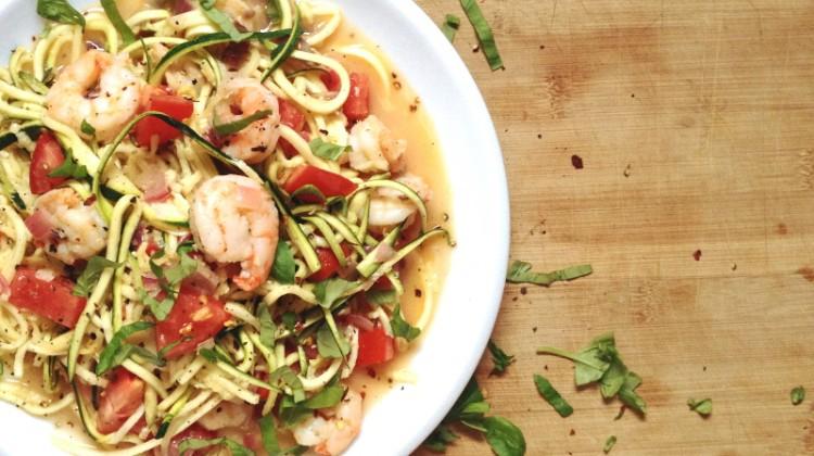 Rezept für Zucchini Nudeln