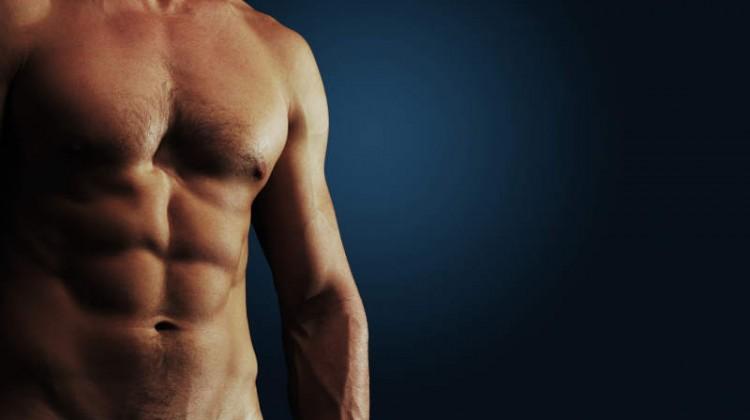 definierte Muskeln