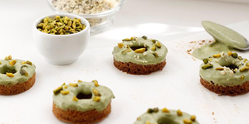 Matcha-Donuts